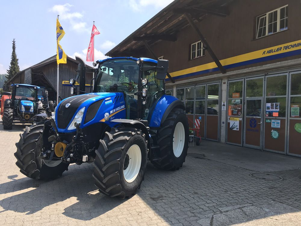 New Holland T5.120EC - F.Keller Technik AG – 8489 Schalchen