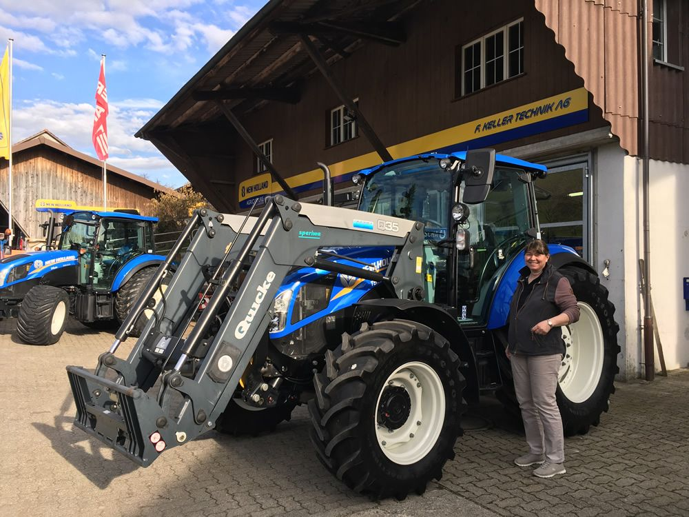 New Holland T5.115 UH - F.Keller Technik AG – 8489 Schalchen
